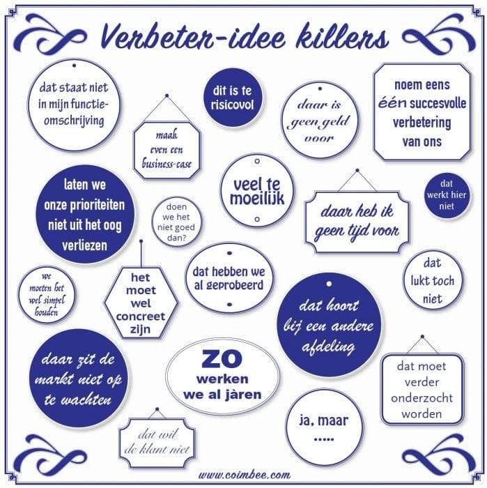 verbeter-idee killers coimbee