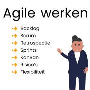 agile werken, hoe doe je dat en wat levert dat op
