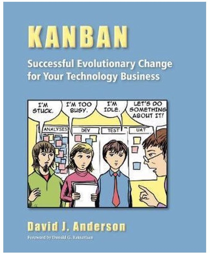 Boek: Kanban successful evolutionary change