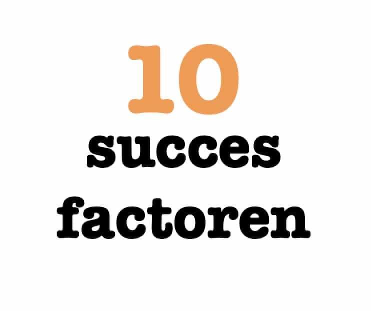 10 succesfactoren Agile werken