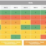 skills matrix coimbee